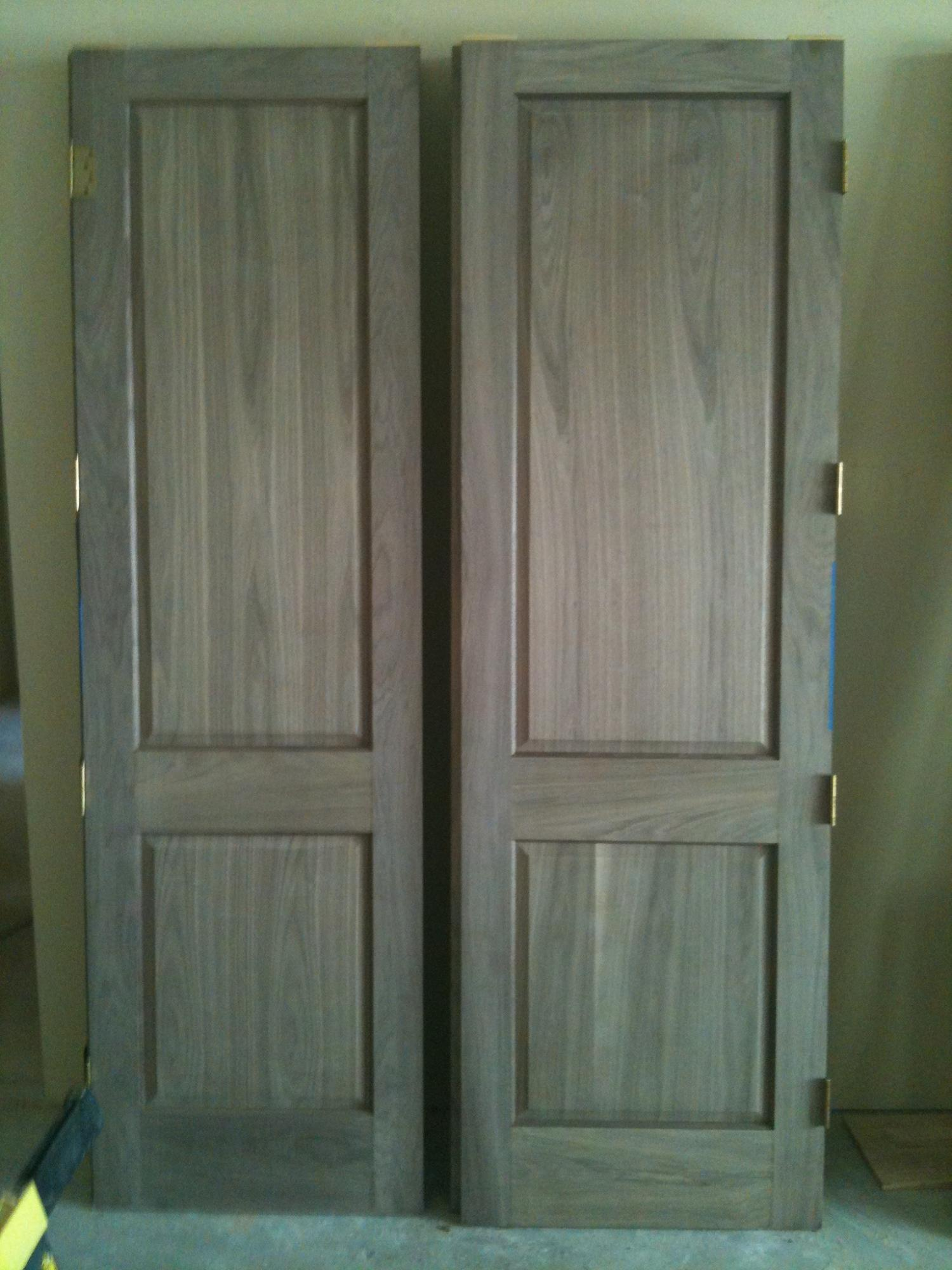 Walnut interior doorss